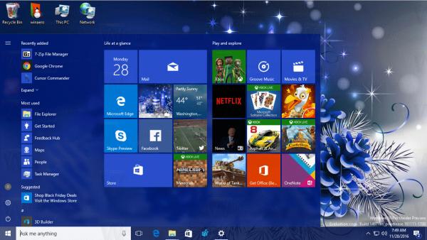 Christmas Theme 2016 for Windows 10