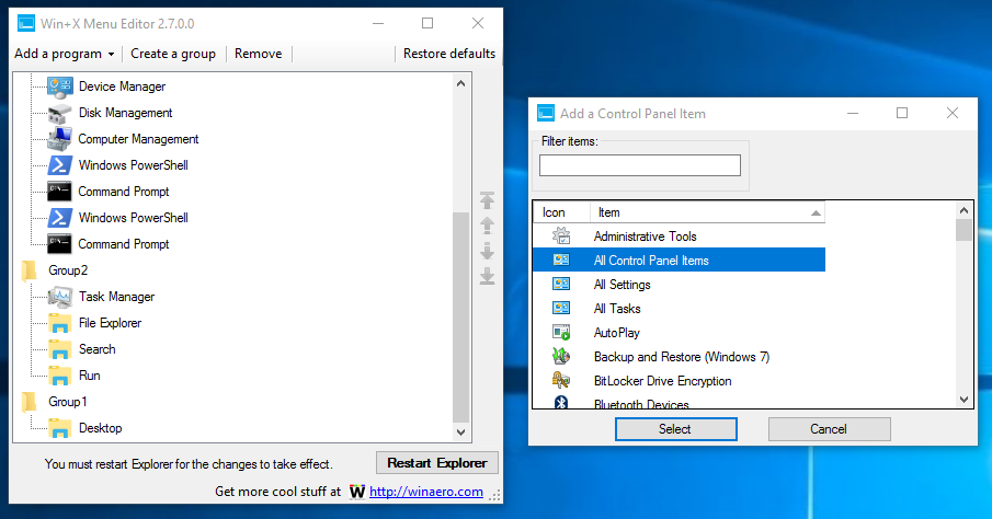 how to find nvidia control panel on win 10