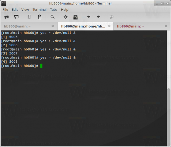 create-cpu-load-linux