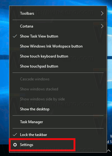 taskbar-context-menu-settings