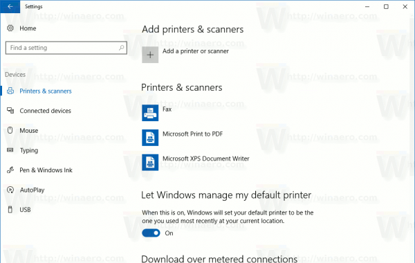 how to create shortcut for printers