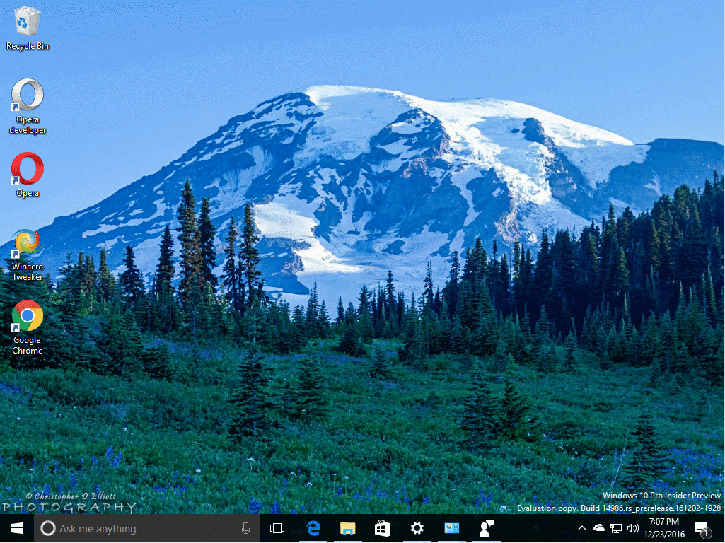 Mount Rainier Theme For Windows 10 Windows 8 And Windows 7