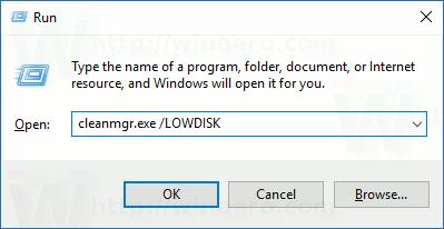 low-disk-run