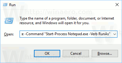 Start a Process Elevated from PowerShell