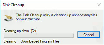 Disk Cleanup Cleanmgr Command Line Arguments in Windows 10