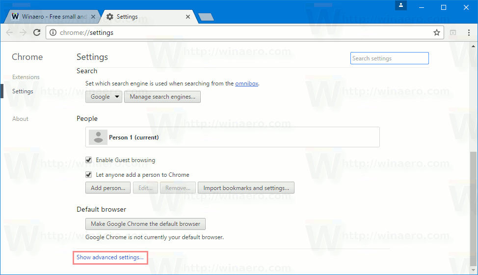 Change download location in IE, Chrome, Firefox, Opera