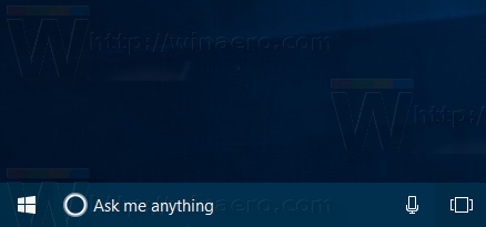 Cortana Transparent Background Blue