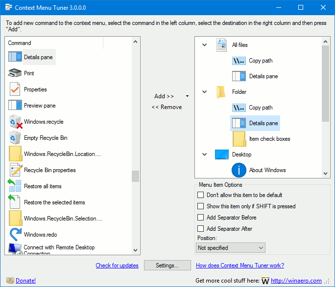 Customize Preview Details in Details Pane of File Explorer ...
