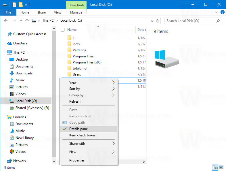 How To Turn On Details Pane In Windows 10?