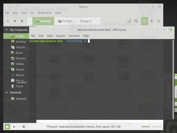 Folder Opened In Terminal
