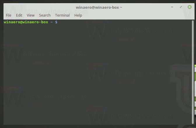 Linux Mint Open Terminal App