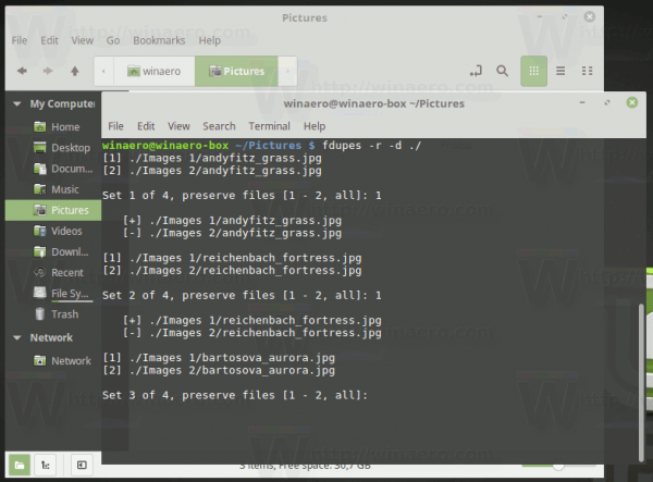 Linux Mint Find And Remove File Dublicates