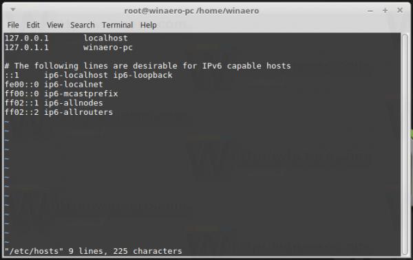 Mint Edit Hosts File
