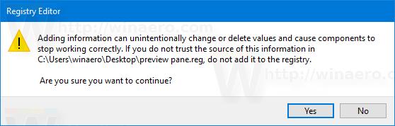 Preview Pane Context Import Tweak 2
