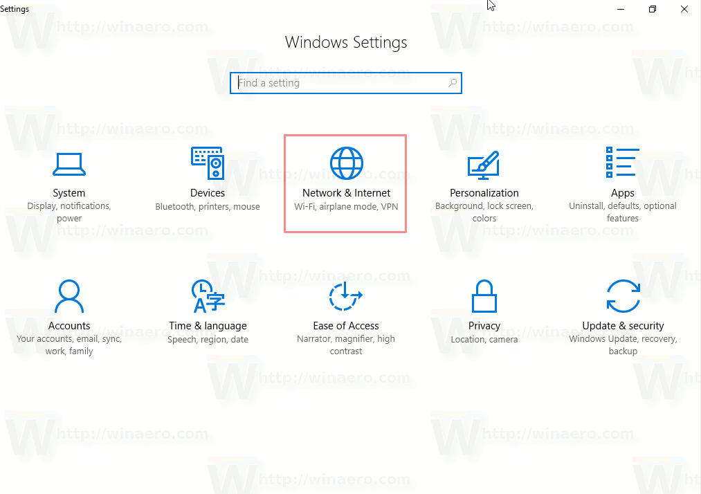 Settings Network And Internet Icon