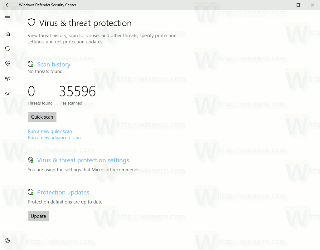 Virus Threat Protection 1