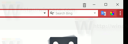 Vivaldi Extension Bar Toggle Button