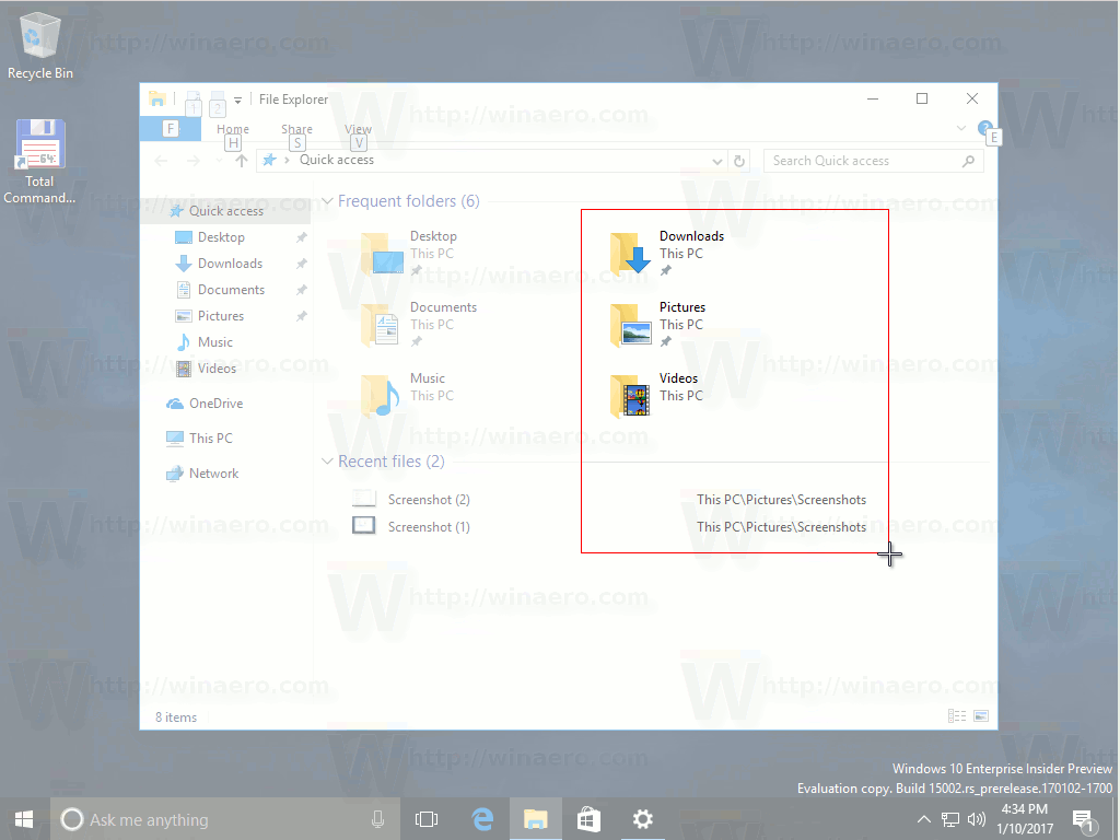 Windows 10 Select Region To Capture
