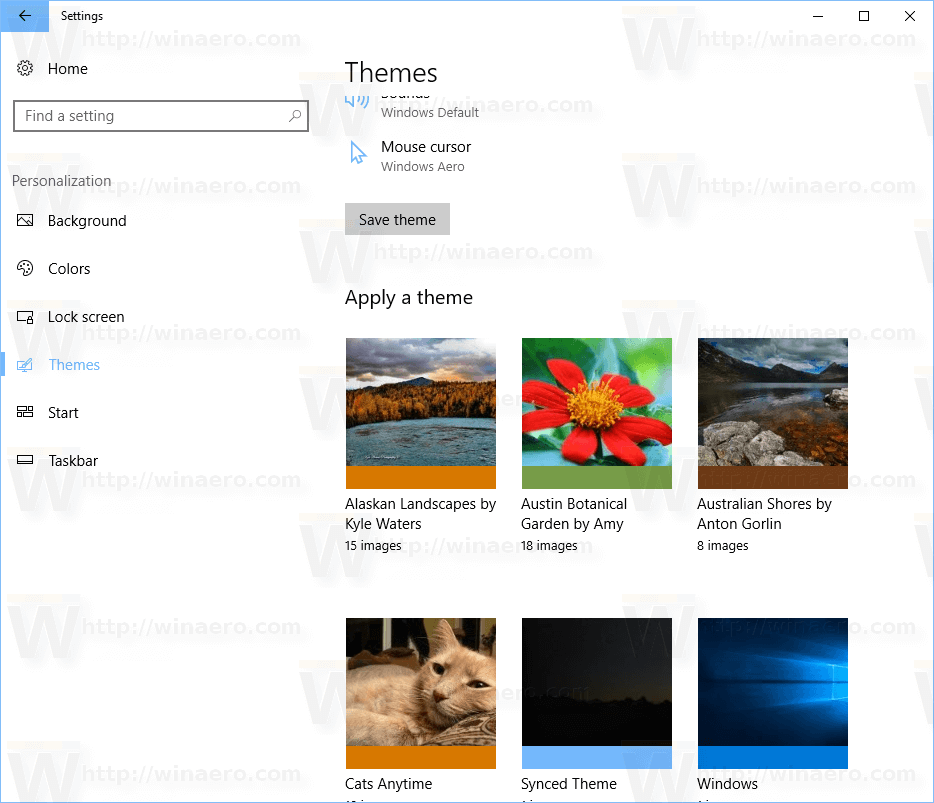 How To Delete Or Uninstall A Theme in Windows 10