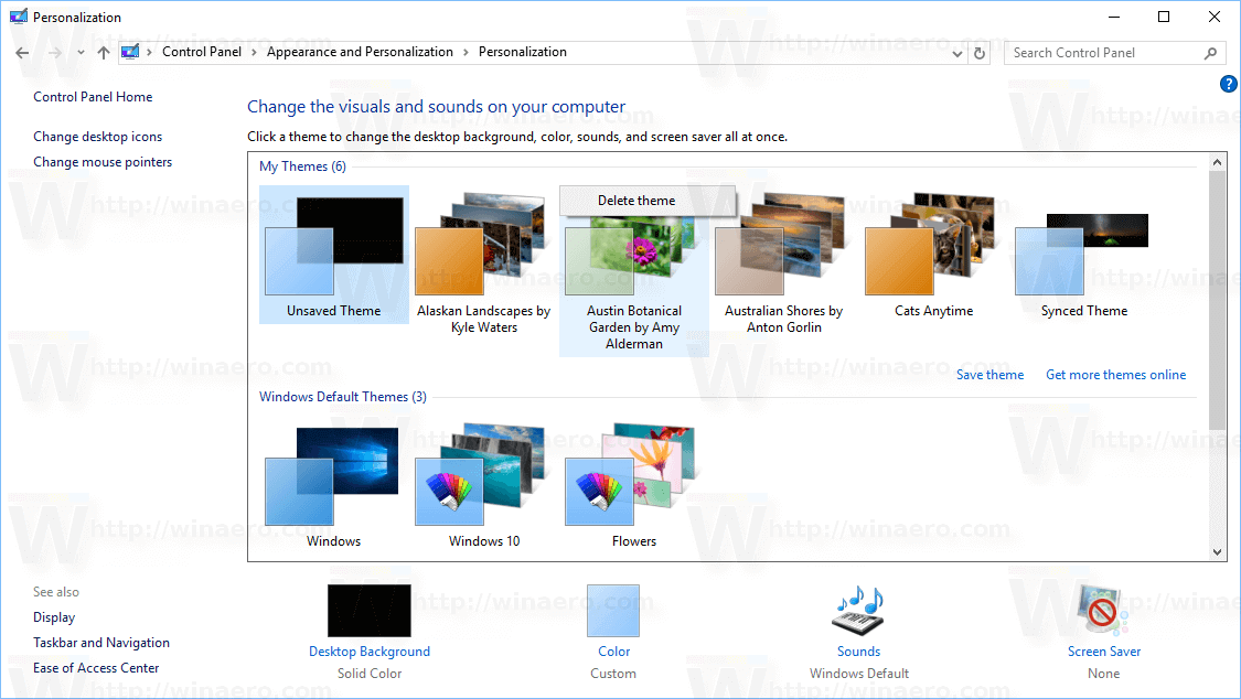 how to delete winzip from windows 10