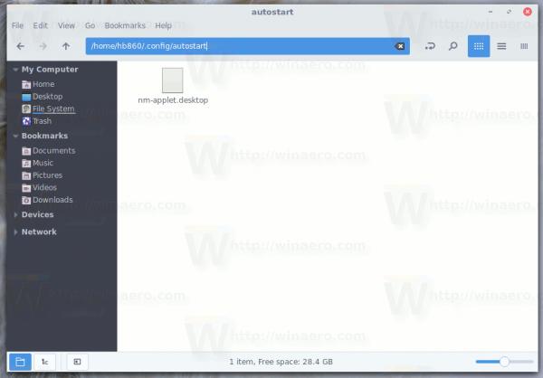 Personal Autostart Folder In Linux
