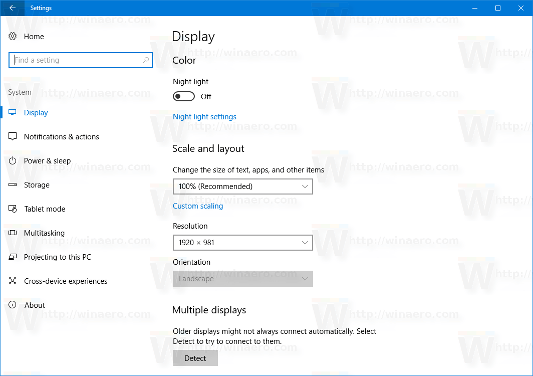 How to Set Display Custom Scaling in Windows 10