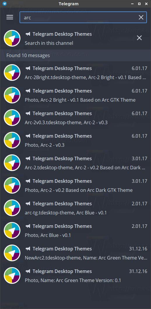 How to Install Themes in Telegram Desktop