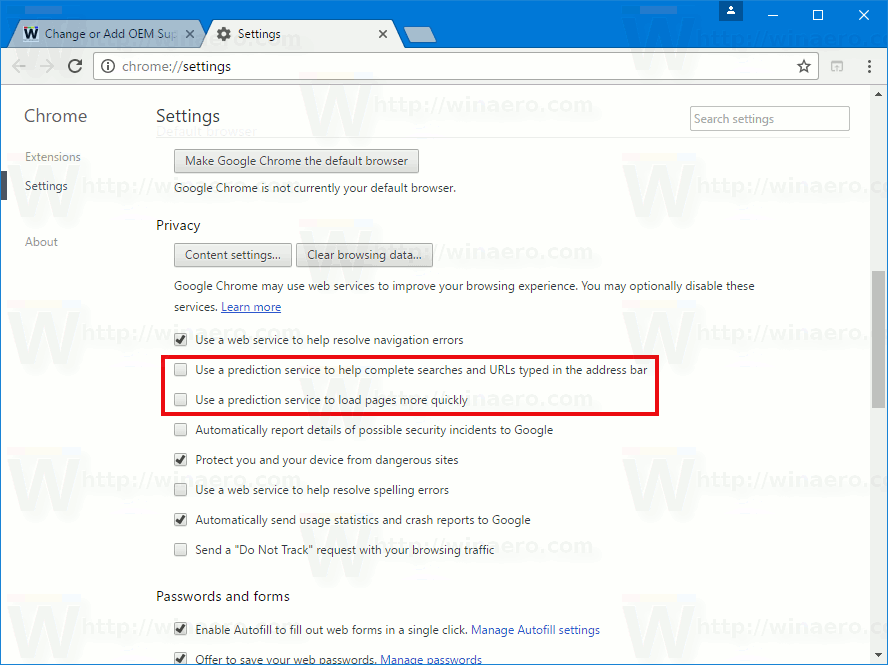how to do search in google chrome page