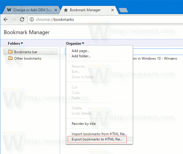 How To Show Other Bookmarks In Chrome How to hide or delete