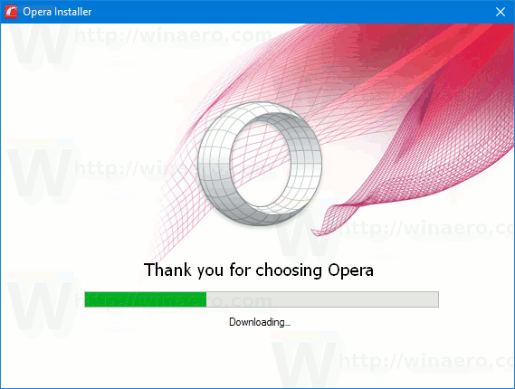 Opera New Installer