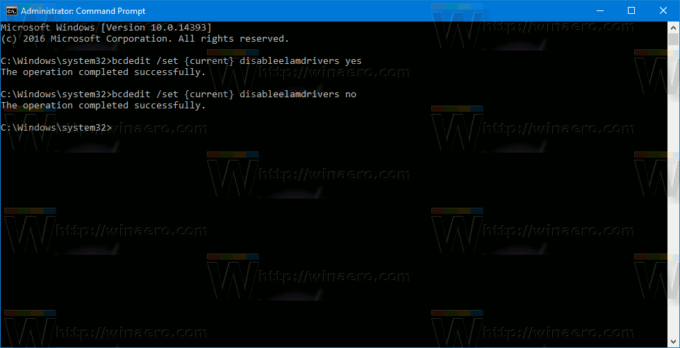 Re Enable Early Launch Anti Malware Protection In Windows 10