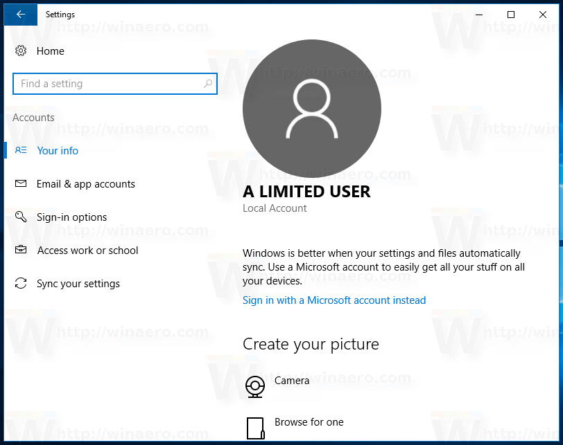 Find if your account is administrator in Windows 10
