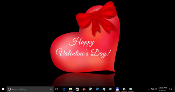 Valentine Day Theme For Windows 10 3
