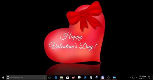 Valentine Day Theme For Windows 10 3