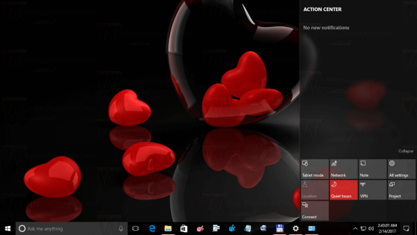 Valentine Day Theme For Windows 10 4
