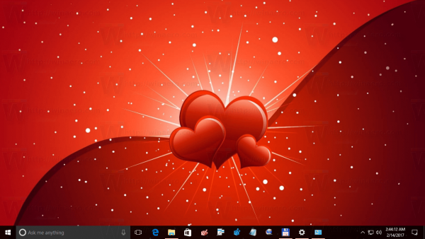 Valentine Day Theme For Windows 10 5