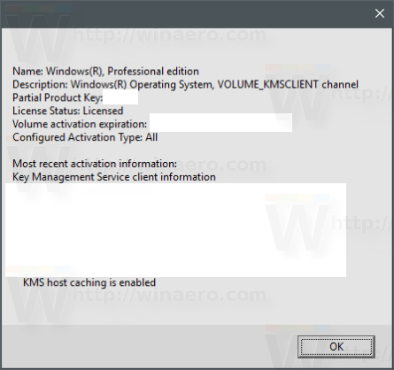 Find If Windows 10 License Type is Retail, OEM, or Volume