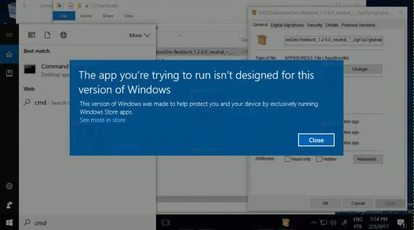 Windows 10 Cloud Command Prompt