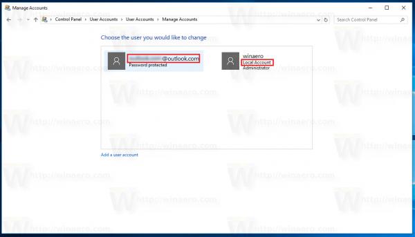 Windows 10 Local Or Microsoft Account