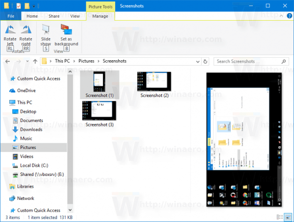 Windows 10 Rotate Image With Hotkeys