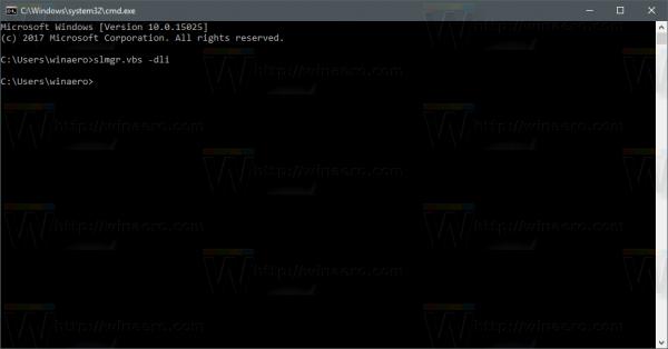 Windows 10 Run Slmgr Dli