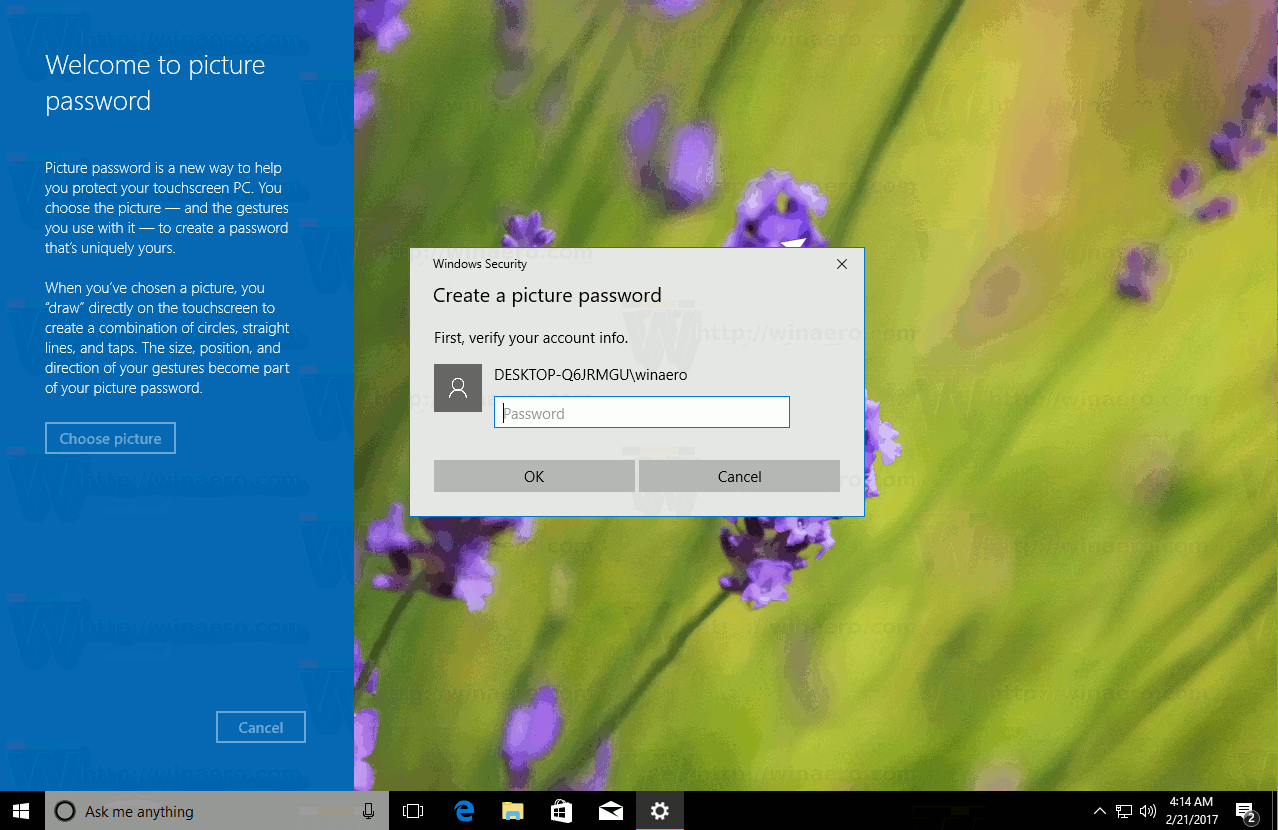 how to change the password on windows 10