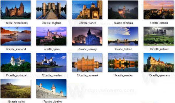 Castles Of Europe Wallpapers