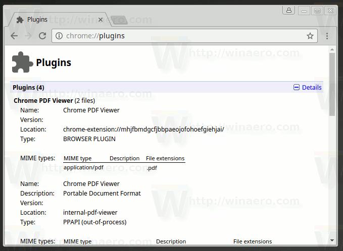 where are chrome plugins