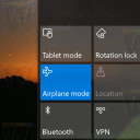 Airplane Mode Windows 10