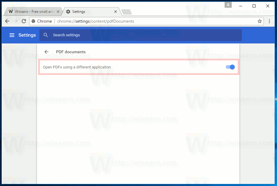 How to Enable/Disable Chrome PDF Viewer