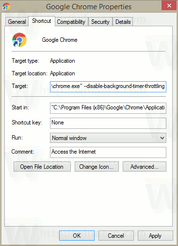 Disable Tab Throttling In Google Chrome With Shortcut