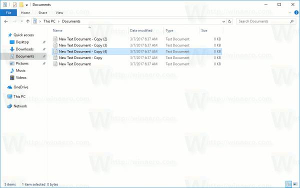 File Explorer Default View