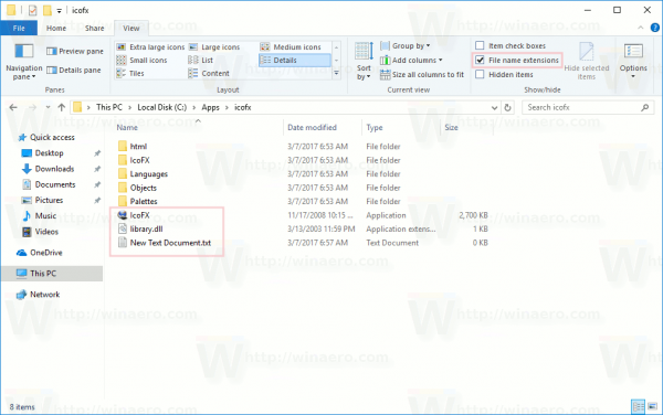 File Explorer Exe Extension Is Hidden