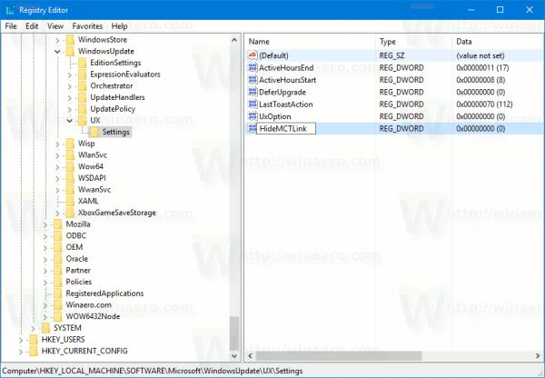 Hide Windows Update Teaser 1